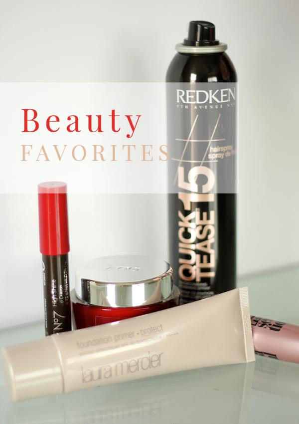 feb beauty favorites