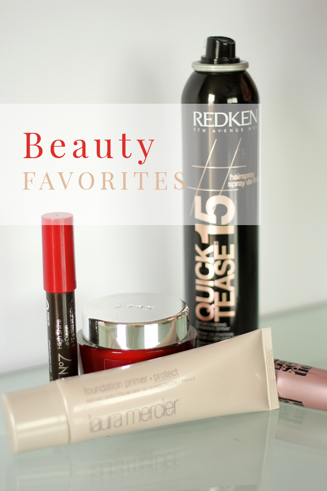 feb beauty favorites