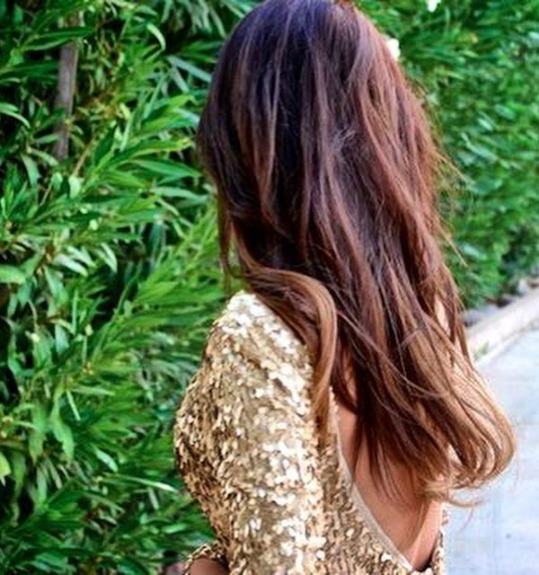 Oscar party outfit idea gold sequin party dress