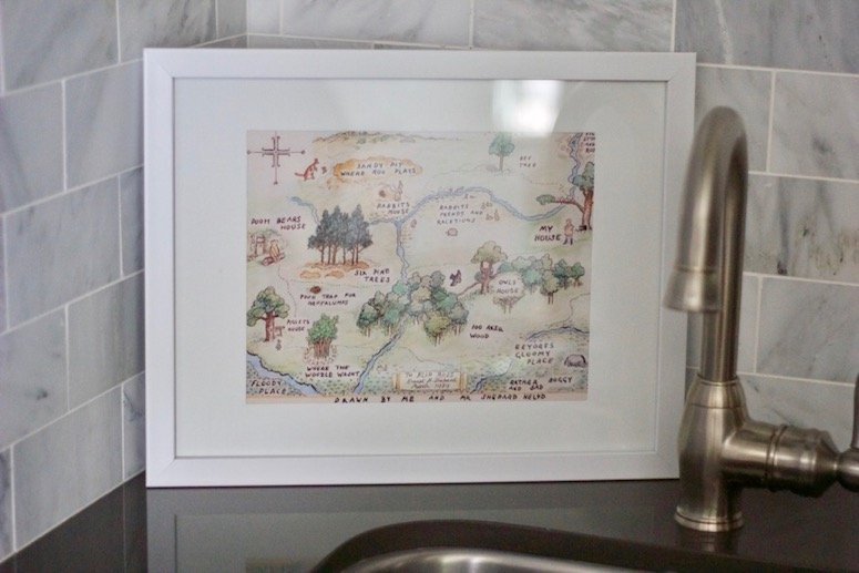 classic winnie the pooh framed art, click to see more from this classic winnie the pooh themed baby shower