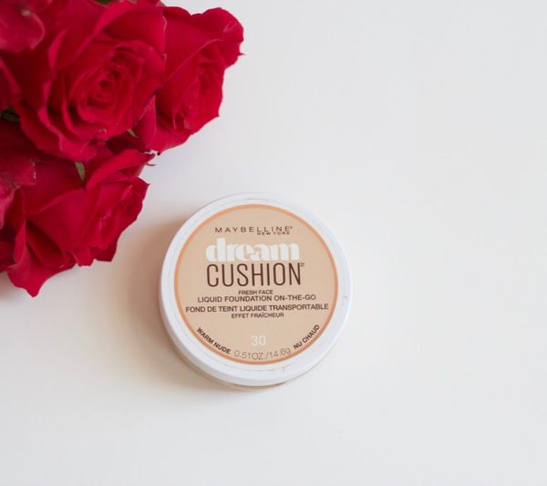 Maybelleine dream cushion foundation review, click to read the full review in the post!