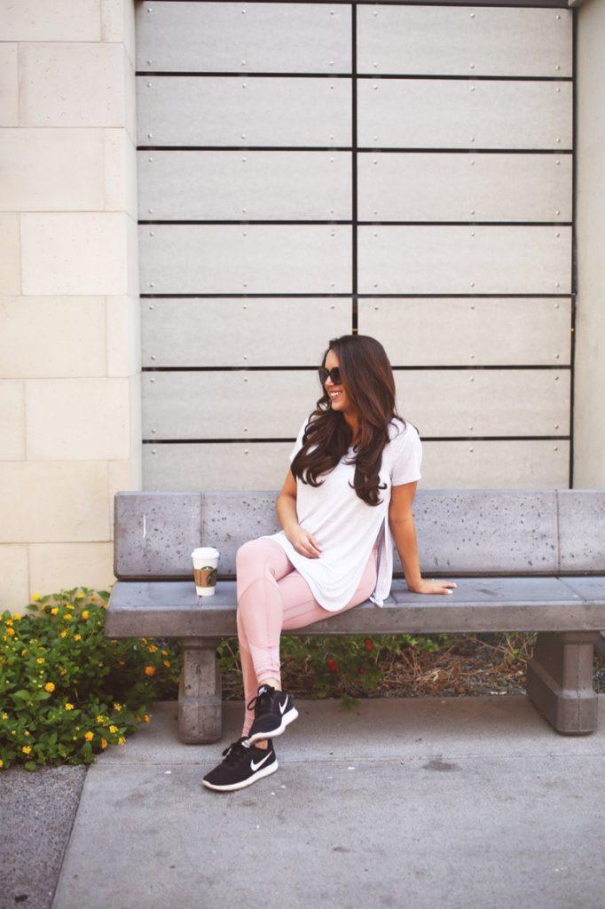 Zella pink yoga pants