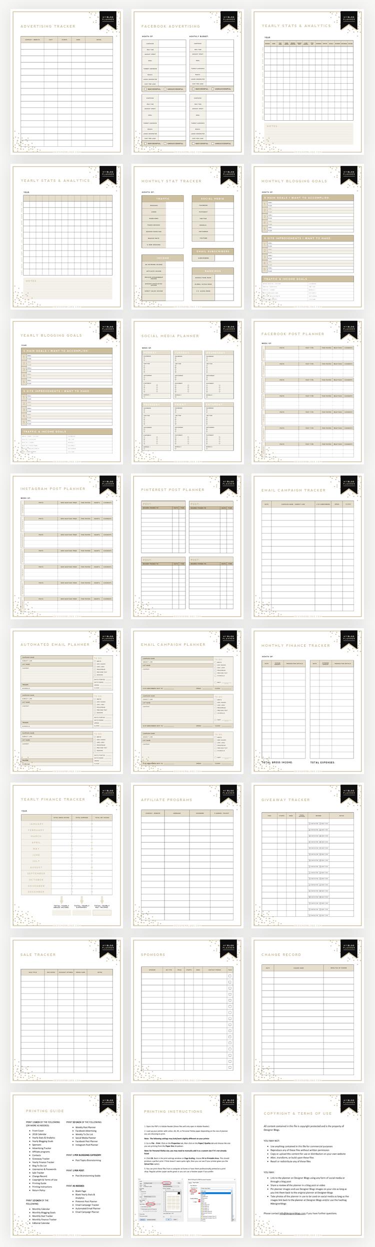 ultimate blog planner extension