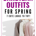 cardigan outfits for spring
