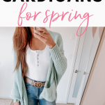 how to wear spring cardigan outfit ideas