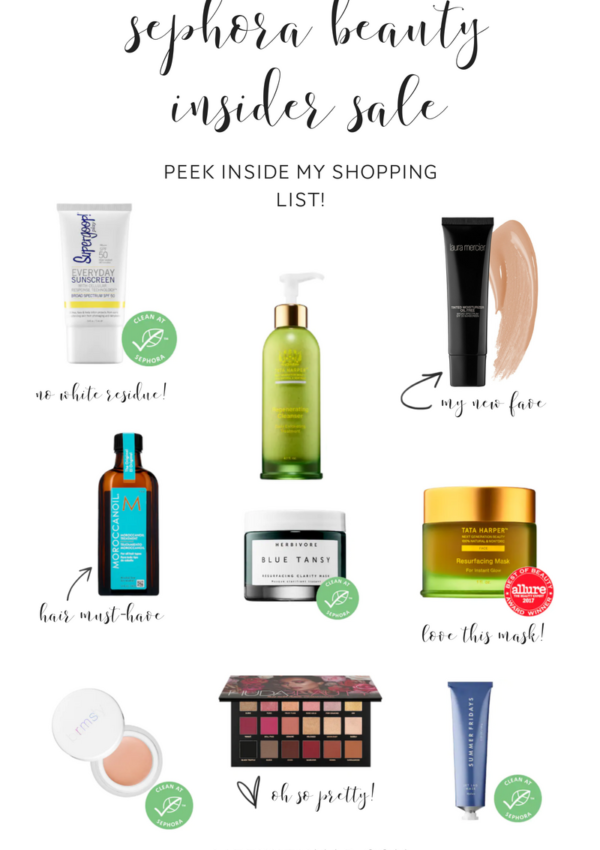 2018 sephora beauty insider sale