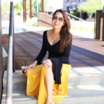 What to Wear with Mustard Yellow Pants