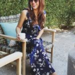 Navy Floral Jumpsuit + Welcoming Fall in Arizona