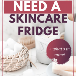 do you need a makeup skincare fridge