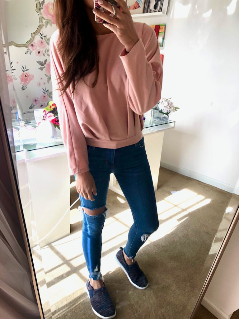 pink sweater amazon sweaters under $50