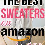 Cute Amazon swetaers under $50