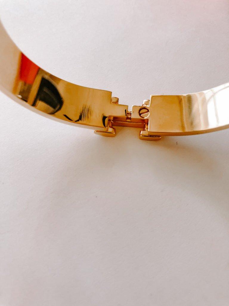 hermes clic h bracelet dupe