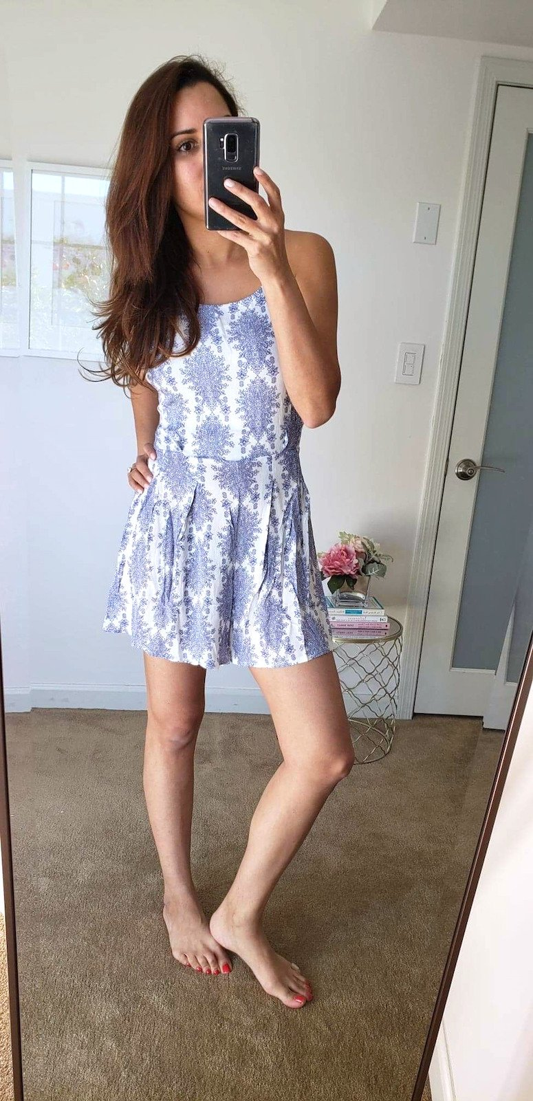 amazon fashion finds spring haul romper