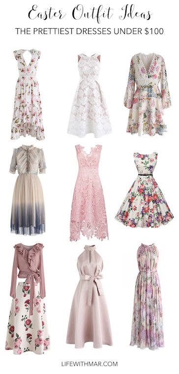 prettiest easter dresses under $100