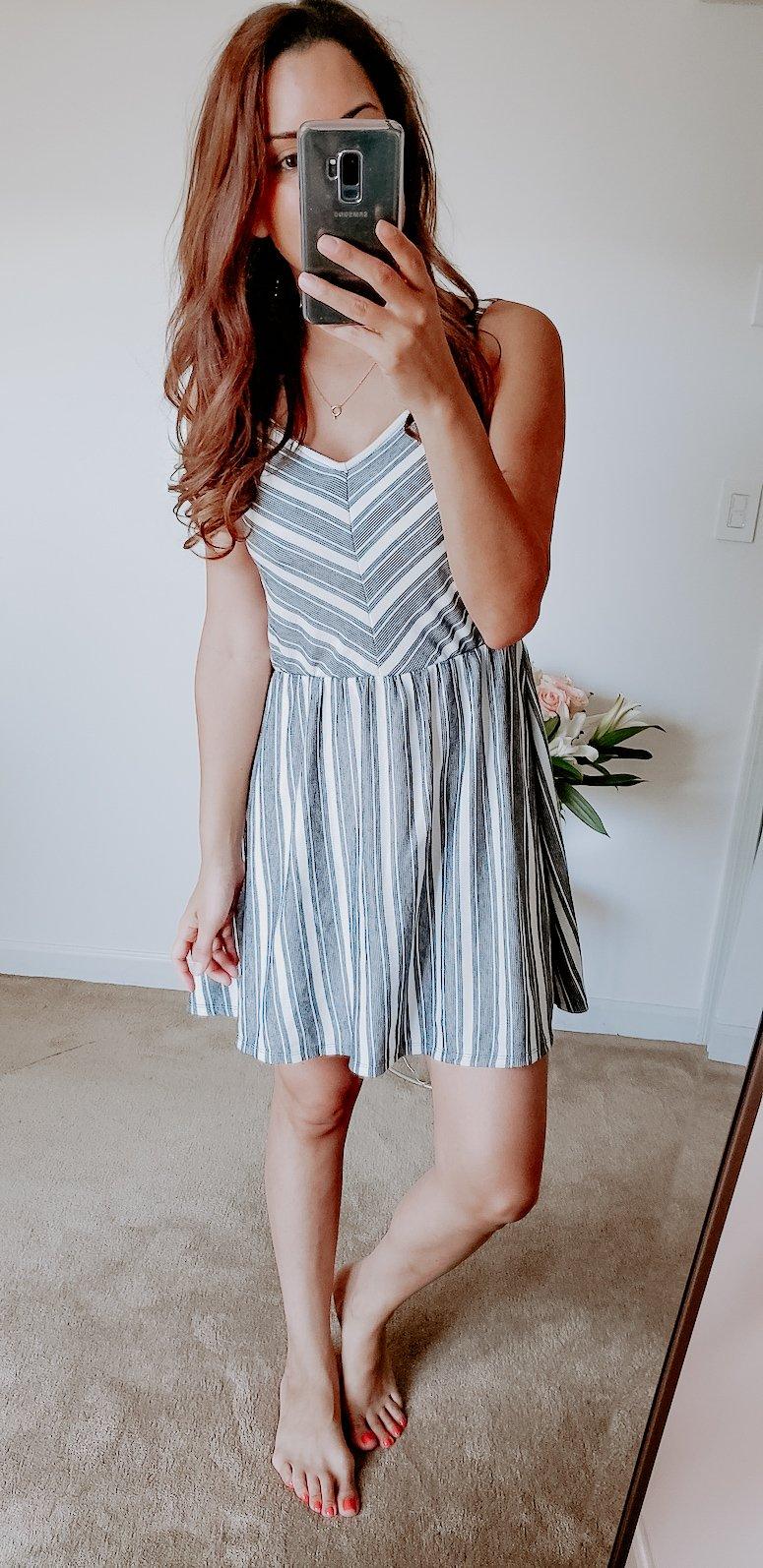 target chevron dress