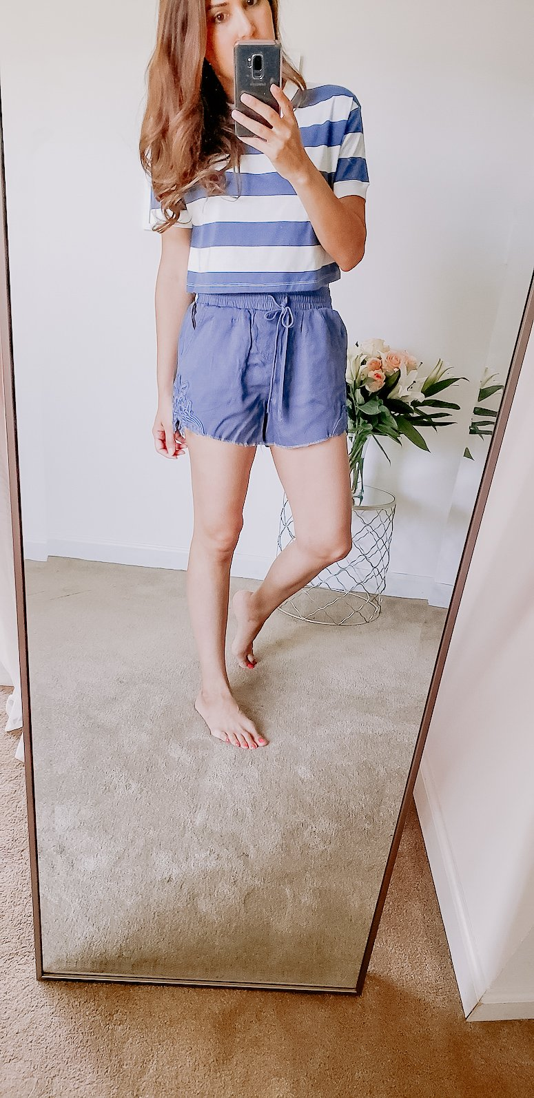 target spring try on haul pull on shorts
