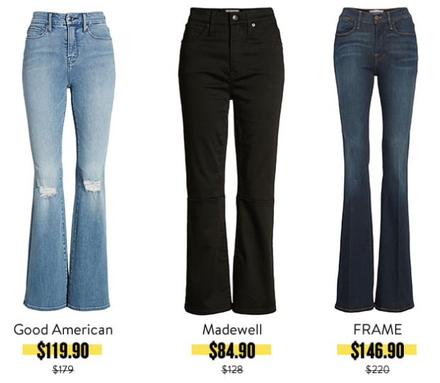 best jeans from the 2019 nsale