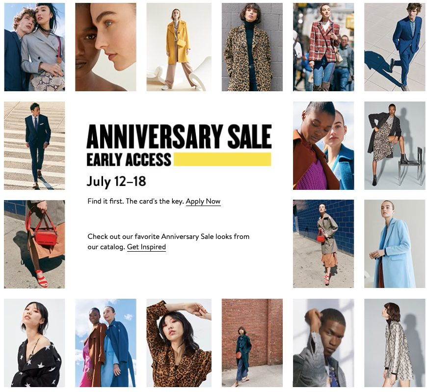 nordstrom anniversary sale 2019 early access details