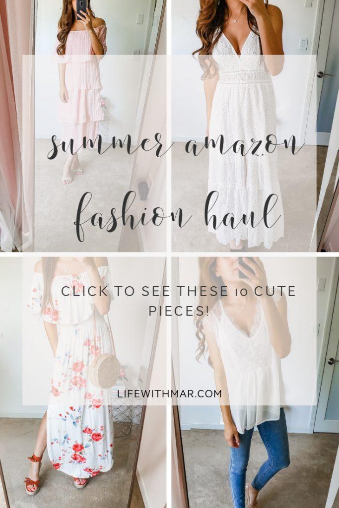 summer amazon fashion haul