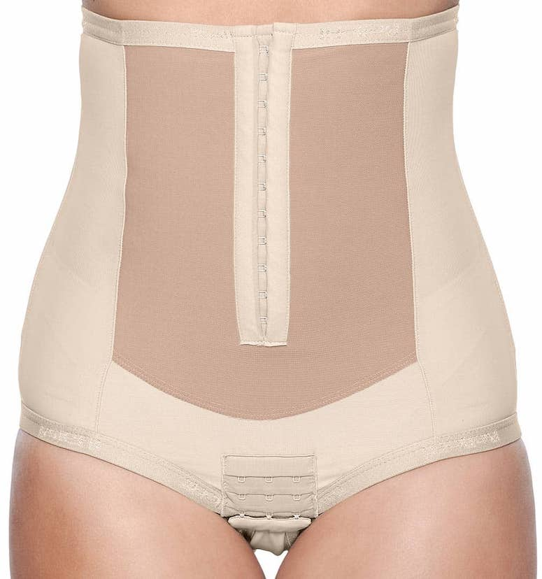 bellefit corset postpartum girdle review