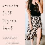 amazon fall fashion try on haul