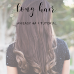 how to curl long hair with a curling iron