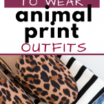 5 ways to wear animal print outfits