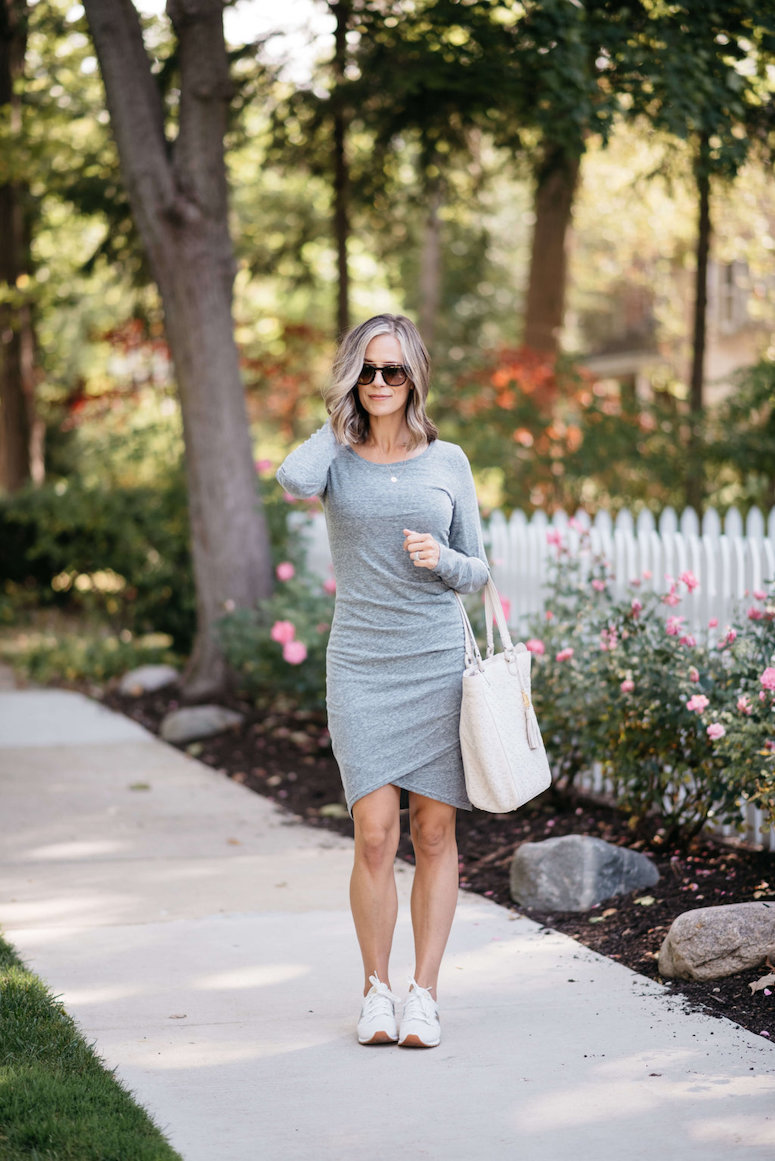 long sleeve leith dress