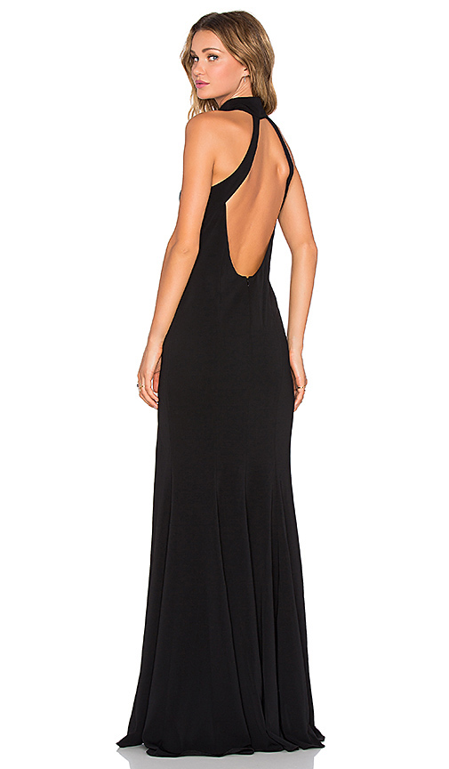 jay godfrey cameo dress in black | what to wear to a new year's eve wedding