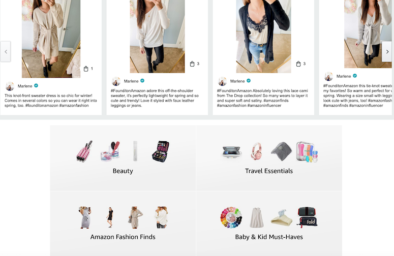 how to find cute clothes on amazon shop influencer storefront