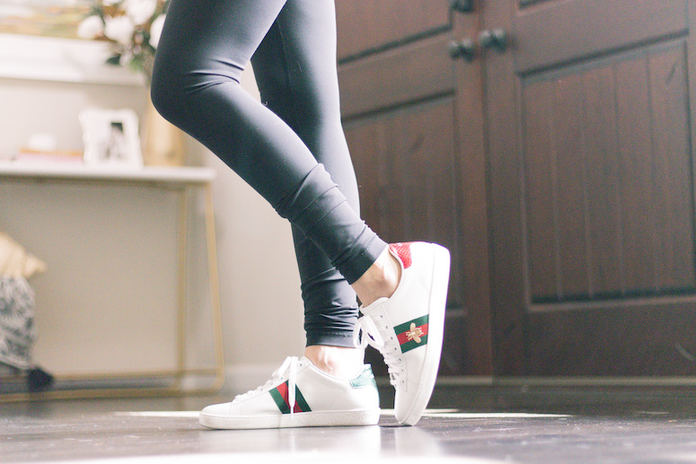 gucci ace sneakers review women's bee sneaker