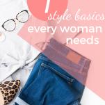 fashion basics for women from amazon