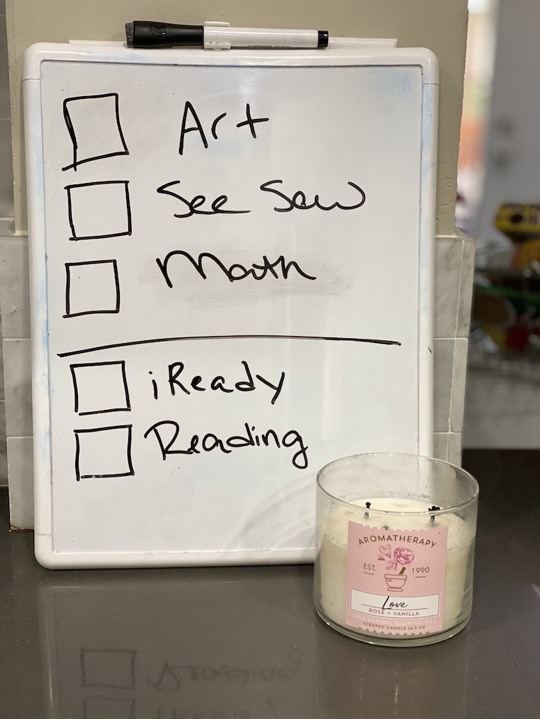 white board for home school