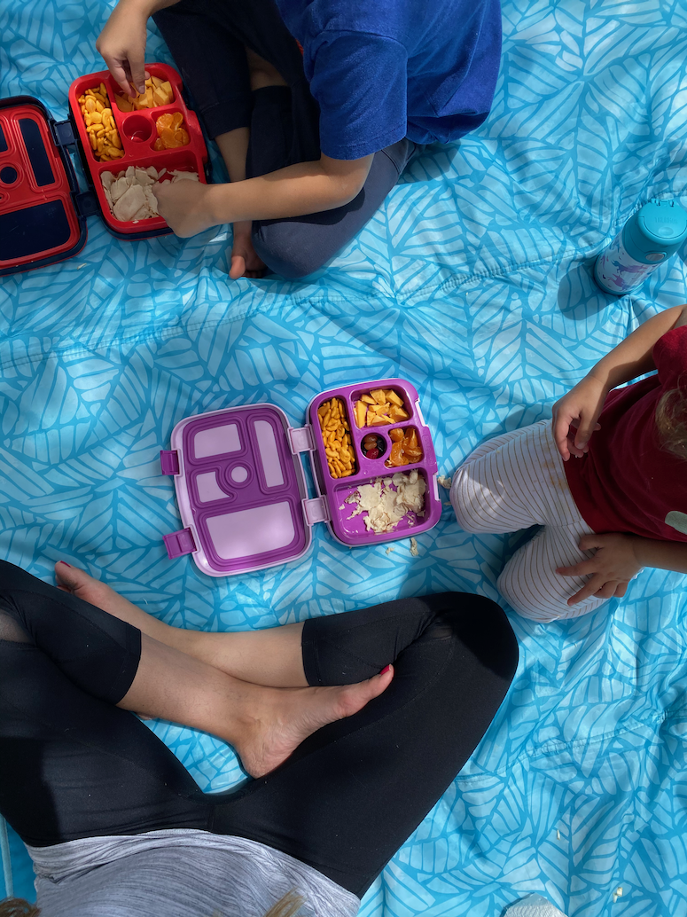 outdoor picnic with kids idea bentgo kids boxes