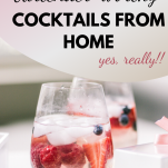 cocktails at home with drinkworks