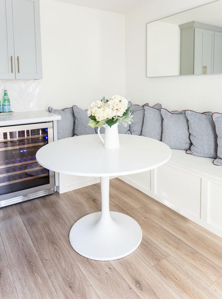 round white Ikea table