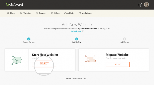migrate blog to new hosting provider