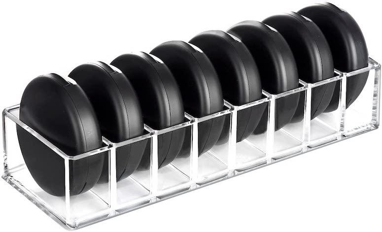 blush makeup organizer tray