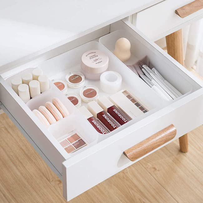 drawer organizers customizable
