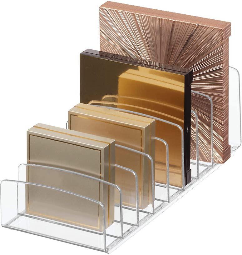 makeup palette organizer