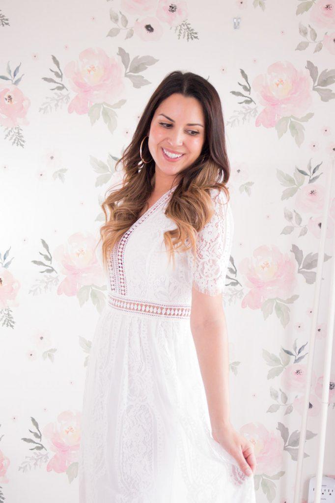 amazon white maxi dress bestseller