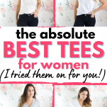 best t-shirts for women from nordstrom