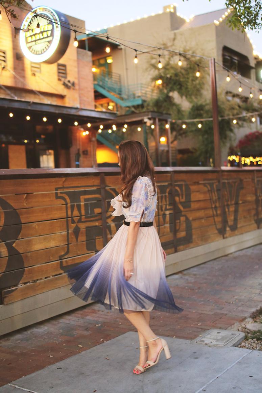 chicwish mesh tulle dress