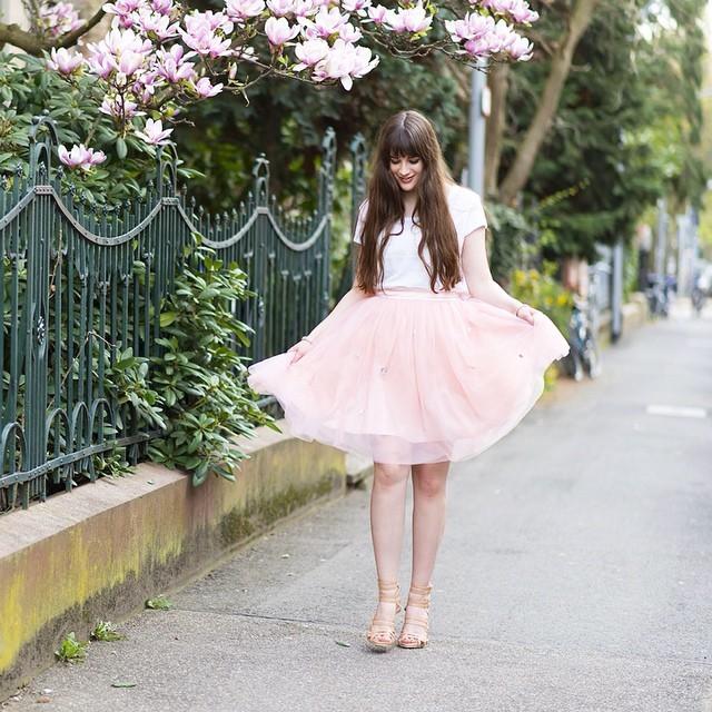 pink tutu with white t shirt