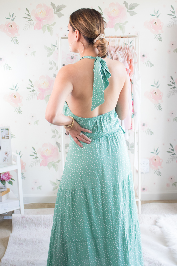 summer amazon fashion finds maxi dress