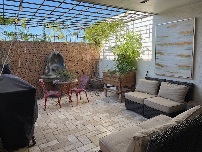patio transformation before after