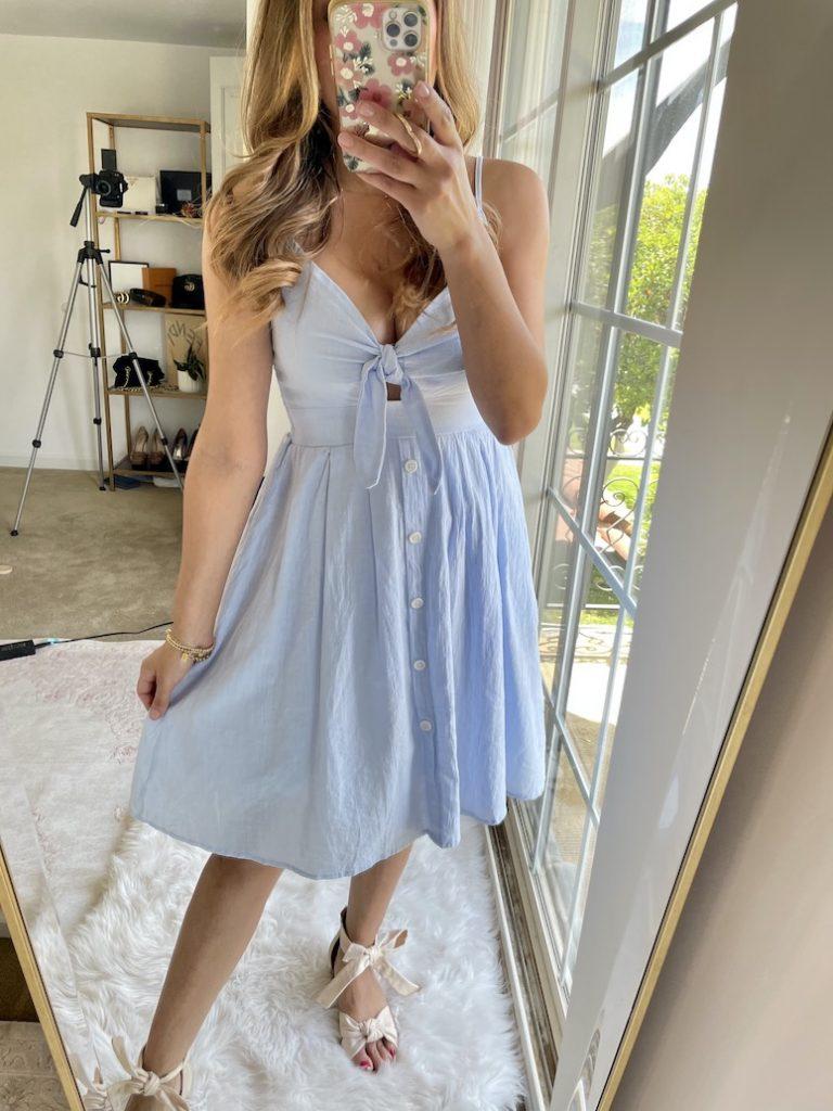 amazon a-line summer dress