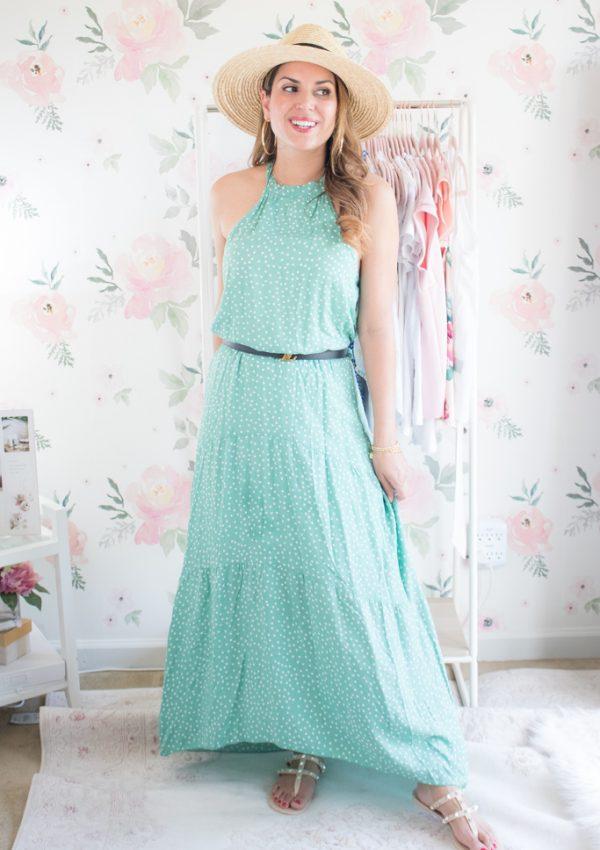 best summer amazon fashion finds green maxi dress