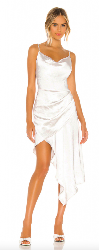 white out party cocktail dress