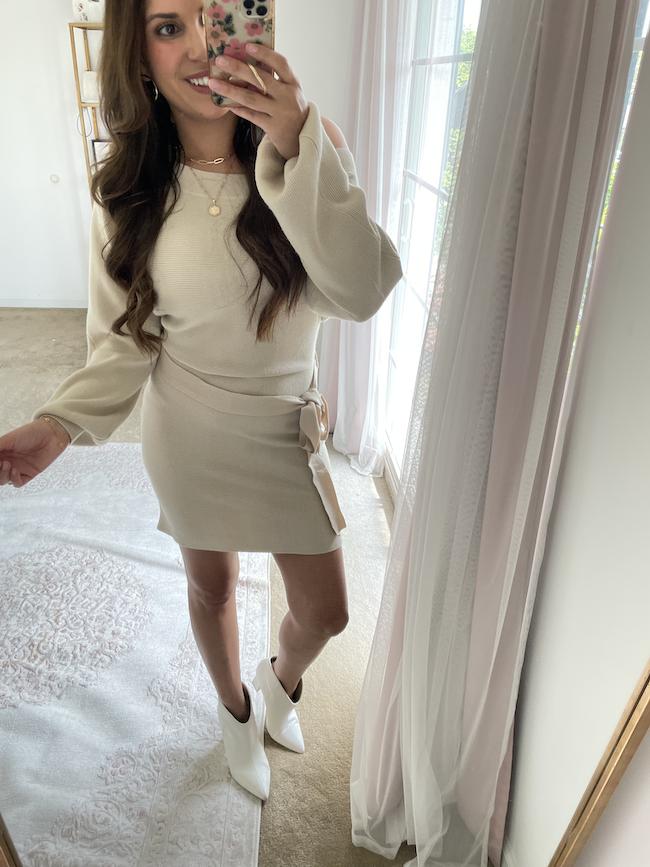 best fall amazon fashion finds sweater dress
